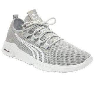 Klensia Sepatu Sport Sneaker Pria Men Sneakers Abu 989-003