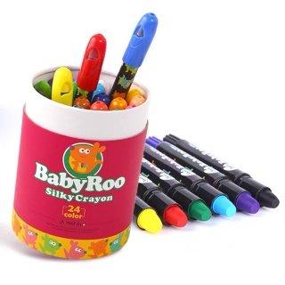 Joan Miro - Washable Silky Crayon 12Pcs