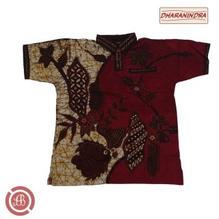 Kaos Polo Batik Tulis - Dharanindra - KCK - 27