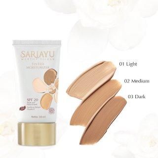 Sariayu Gold Tinted Moisturizer SPF 20