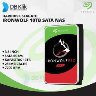 Seagate Ironwolf 10TB NAS HDD
