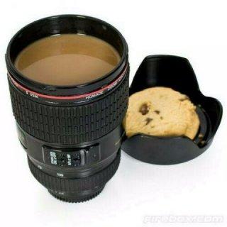 Travel Coffee Mug Berbentuk Lensa Kamera DSLR