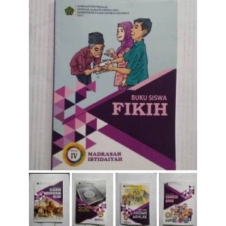 Buku Paket Siswa Madrasah Ibtidaiyah untuk kelas 4