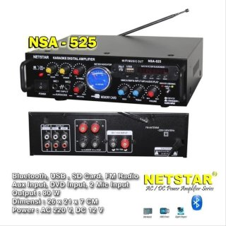 Amplifier Bluetooth NSA 525