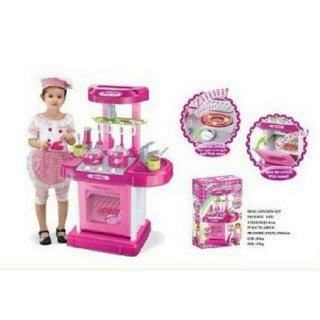 Mainan Kitchen Set Koper Mainan Dapur Dapuran Mainan Masak Masakan