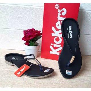Sandal Wanita Kickers Tali Ring