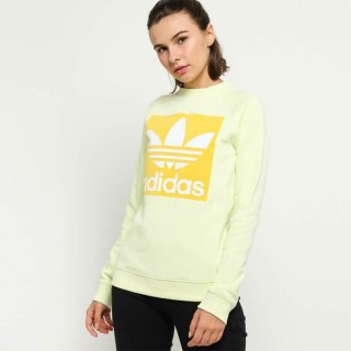 Adidas Originals Women Trefoil Crewleeve