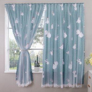 Tirai Jendela Dengan Perekat Velcro Untuk Kamar Tidur