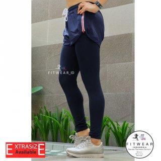 Celana Lari Wanita + Inner Legging