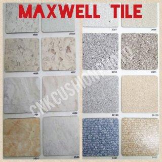 Karpet Lantai Vinyl Floor Tile Maxwell Plank