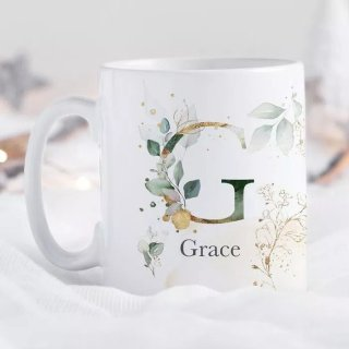 Mug - Mug Inisial Huruf