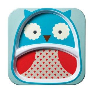 Skip Hop Zoo Owl Plate