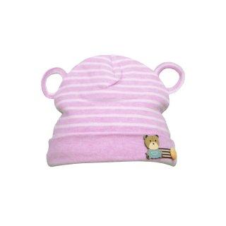 Nbaby Topi Bayi Lucu Striped Bear Beanie 1 Pcs BCP 3318