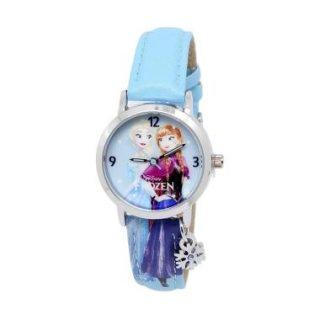 Disney FZ5000 Frozen Original - Jam Tangan Anak Perempuan - Biru