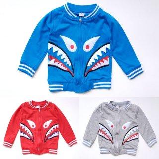 Jaket Baby Terry Bape Shark