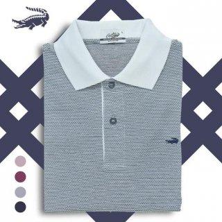 ALMA - Baju Pria Crocodile Men Polo Shirt