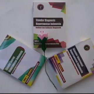Paket 3 Buku SIKI SDKI SLKI Keperawatan Indonesia