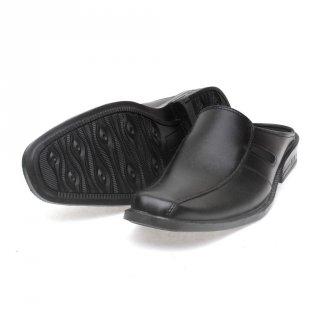 Salvo sepatu sandal pria SLV52 hitam