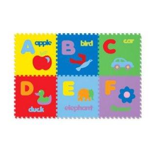 Karpet Puzzle Evamat Abjad Gambar