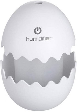 Aroma Terapi Egg Humidifier USB LED