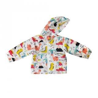 Jacket Windbreaker motif Dino - MOEJOE