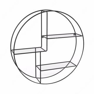 Lilo Rak Dinding 3 Tingkat - Hitam