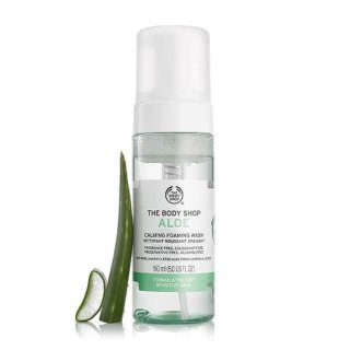 The Body Shop Aloe Foaming Facial Wash