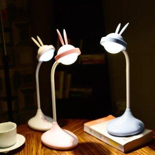 Lampu Meja Belajar LED Kelinci