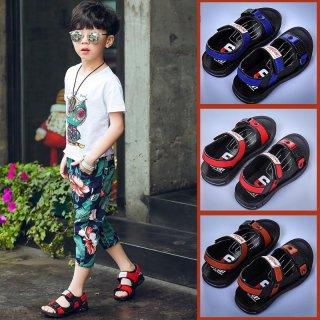 Sepatu Sandal Anak Laki-laki Bahan Plastik Gaya Korea untuk Musim Panas / Pantai