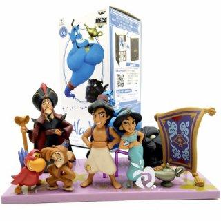 Aladdin Action Figure Set 8 Pajangan Mainan Miniatur Hiasan Kue Cake Toppers FG322