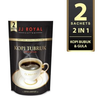 JJ Royal Coffee Kopi Tubruk 2 in 1