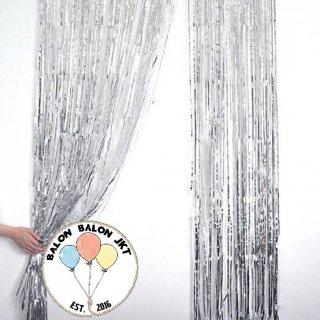 Tirai Foil Silver