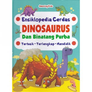 Buku Ensiklopedia Dinosaurus
