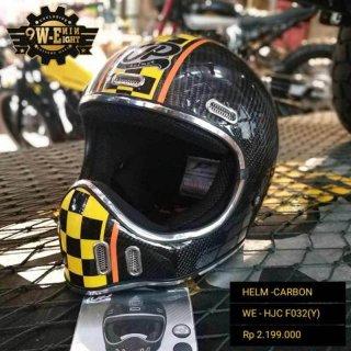 JP Helmet Chakil Helm Full Face Carbon
