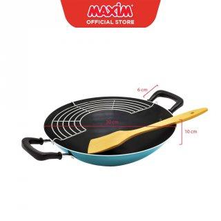 Maxim New EZP Wajan Penggorengan Teflon Anti Lengket 30cm