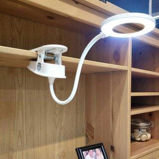 Lampu Meja Belajar LED Clip Circle - YG-T102