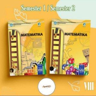Paket Buku Matematika SMP Kelas 8 Semester 1 dan 2 Kurikulum 2013 Kurtilas
