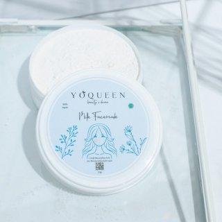 Masker Organik Milk by Yoqueen Beauty