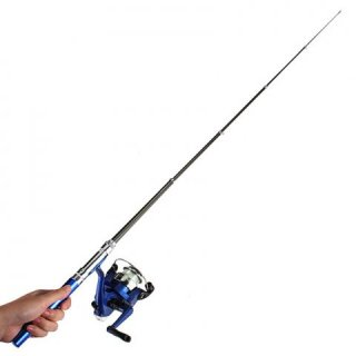 Mini Portable Telescopic Fishing Rod