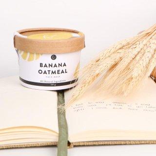 Banana Oatmeal Organic Face Mask by Habiti