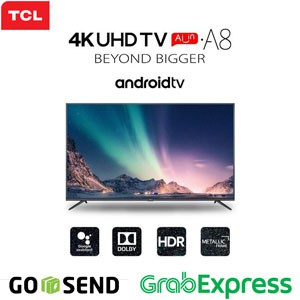 TCL Android Smart UHD 4K TV 50 Inch 50A8