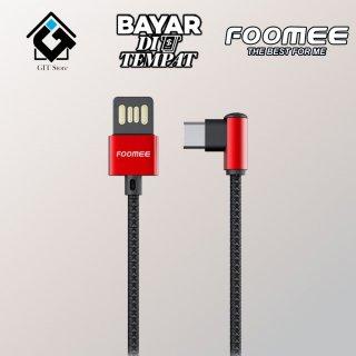 Foomee Fast Charging Tipe C Kabel Data
