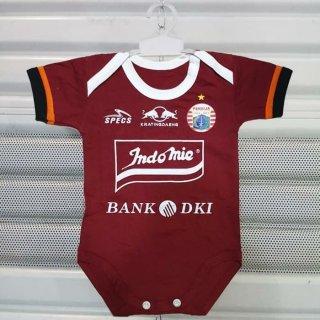 Baju Bayi Bola Jersey Persija Jakarta Away Jumper Baby