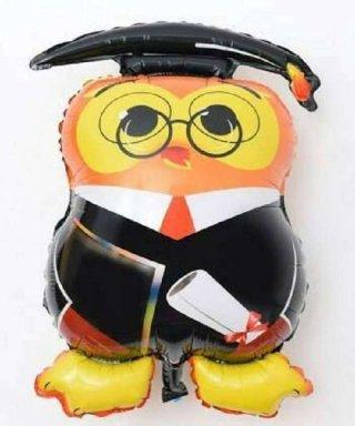 Balon Foil Owl Graduation