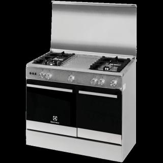Electrolux EKM9682X Freestanding Kompor 4 Tungku + Oven