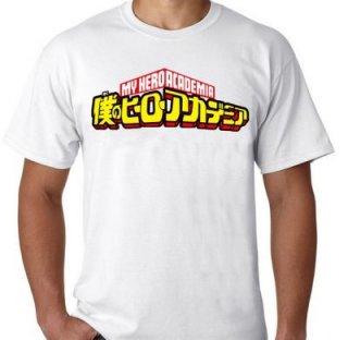Kaos Anime Boku No Hero Academia - Hero Logo