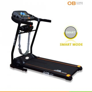 OB FIT OB-1057 Electric Treadmill With Belt Massager