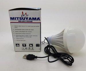 Universal Kabel USB Lampu LED 5w Putih Mitsuyama