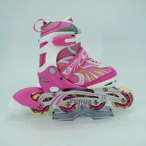 Sepatu Roda Anak Inline Skate YH A002 - Pink Roller