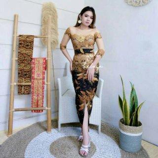 Kebaya Bali Sabrina Brukat Rangrang